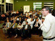 21.08.2015 - EVENTO DE LANÇAMENTO DA TORRE ATTO - ANTÔNIO MANZI - PESQUISADOR INPA E COORD. DO PROJETO DA TORRE NO BRASIL