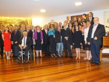 Grupo do CONFAP e convidados na Embaixada Britânica. Foto -  CONFAP
