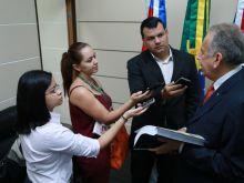 ARI MOUTINHO - PRESIDENTE DO STJAM  - AGÊNCIA FAPEAM - FOTOS ÉRICO XAVIER  IMG_054