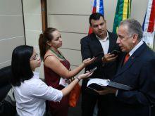 ARI MOUTINHO - PRESIDENTE DO STJAM  - AGÊNCIA FAPEAM - FOTOS ÉRICO XAVIER  IMG_8660