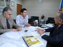 PGCT-PROF. DR. JAMES SILVA - PRES. TJAM ARI MOUTINHO -  - JUIZ AUXILIAR DA PRESIDÊNCIA ADALBERTO CARIM  - AG FAPEAM FOTOS ERICO X.  123