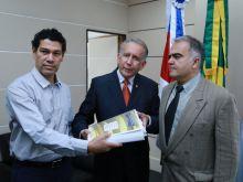 PGCT-PROF. DR. JAMES SILVA - PRES. TJAM ARI MOUTINHO -  - JUIZ AUXILIAR DA PRESIDÊNCIA ADALBERTO CARIM  - AG FAPEAM FOTOS ERICO X.  33