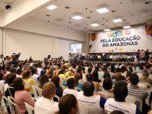 GOVERNADOR ASSINA PACTO PELA EDUCAÇÃO DO AMAZONAS - FOTO ÉRICO XAVIER