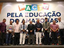 GOVERNADOR ASSINA PACTO PELA EDUCAÇÃO DO AMAZONAS - FOTO ÉRICO XAVIER 08