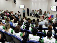 Inauguração da Enfermaria de Pesquisa na Fundação de Medicina Tropical. Fotos - Érico Xavier - Agência FAPEAM-21