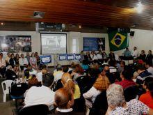 Lançamento da Pedra Fundamental do Hospital do Sangue no FHEMOAM e Entrega de Placa Homenagem pela FAPEAM. Fotos: Érico Xavier / Agência FAPEAM
