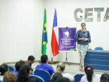 Movimento Mulheres e Meninas na Ciência da Fapeam é apresentado para alunas do Cetam