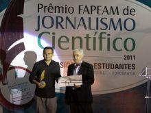 PRÊMIO FAPEAM DE JORNALISMO CIENTÍFICO  2011