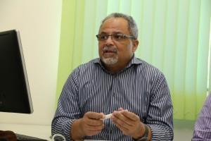 Décio Luiz pede para os proponentes ficarem atentos as etapas. Foto: Érico Xavier