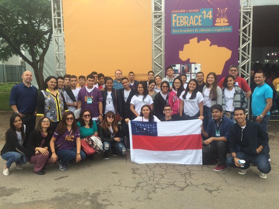 Bolsistas da Fapeam são premiados em Feira Brasileira de Ciências e Engenharias, em São Paulo
