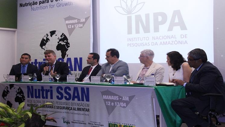 Pesquisadores iniciam no Inpa a criação da Rede Global em Segurança Alimentar