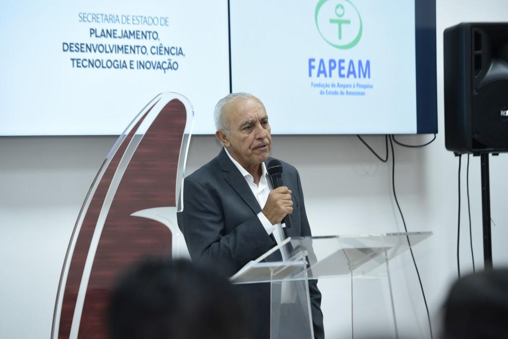 Diretor Edson Barcelos destaca o Prêmio como importante para a popularização da Ciência no Estado