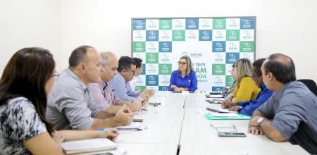 16.04.2019 -Reunião FAPEAM - EMBRAPA E SEPROR- Fotos Erico X-2
