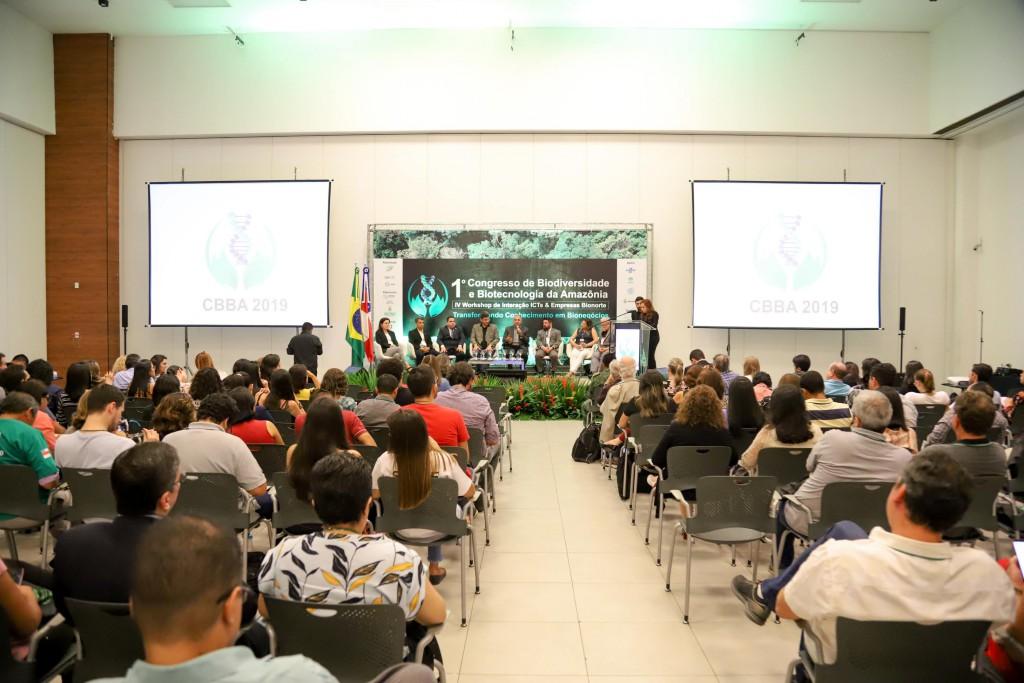 06.11.2019 -  I CONGRESSO DE BIODIVERSIDADE E BIOTECNOLOGIA DA AMAZÔNIA   -  FOTOS ÉRICO X-30