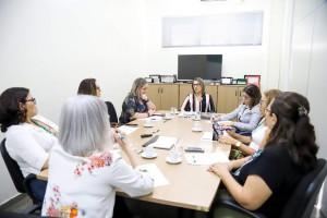Reunião de trabalho com pró-reitores e representantes de instituições de ensino e pesquisa do Amazonas
