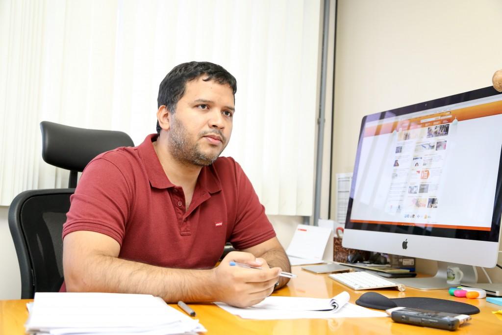 FELIPE NAVECA - VICE DIRETOR DE PESQUISA DA FIOCRUZ AMAZONAS - FOTOS ÉRICO X._-2